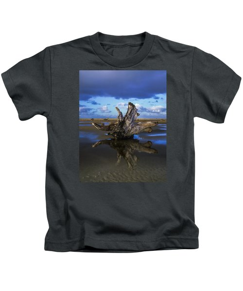 Driftwood And Reflection Kids T-Shirt