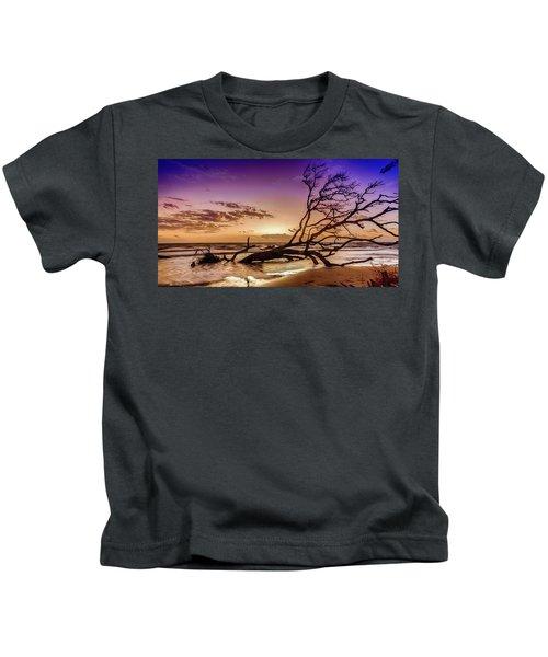 Driftwood Beach 2 Kids T-Shirt