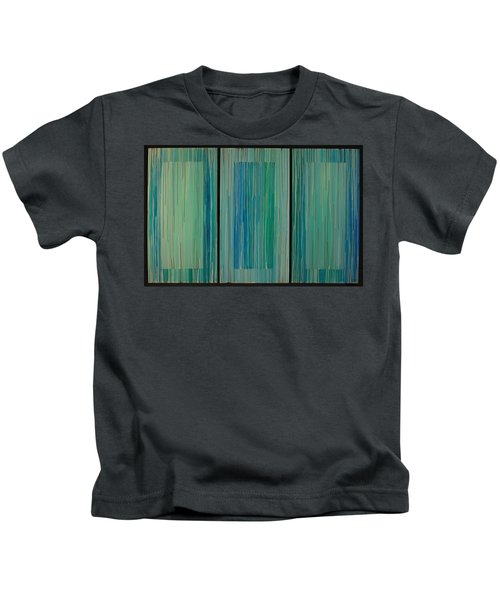 Drippings Triptych Kids T-Shirt