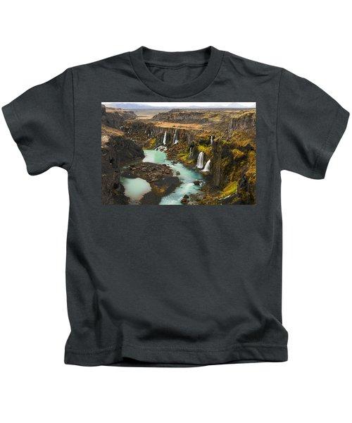 Driven To Tears Kids T-Shirt