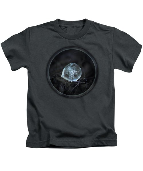 Drop Of Ice Rain Kids T-Shirt