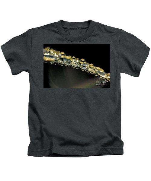 Drops On The Green Grass Kids T-Shirt