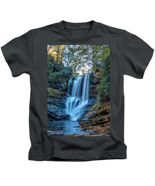 Dry Falls From The Base Kids T-Shirt
