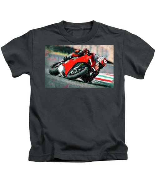 Ducati Panigale V4 - 01 Kids T-Shirt