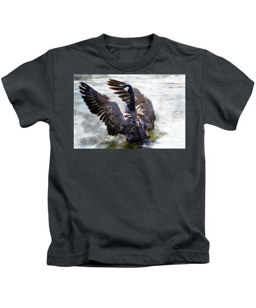 Duck Conductor Kids T-Shirt