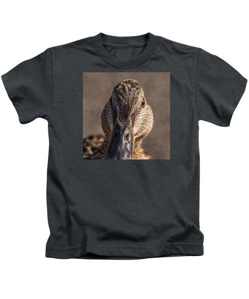Duck Headshot Kids T-Shirt