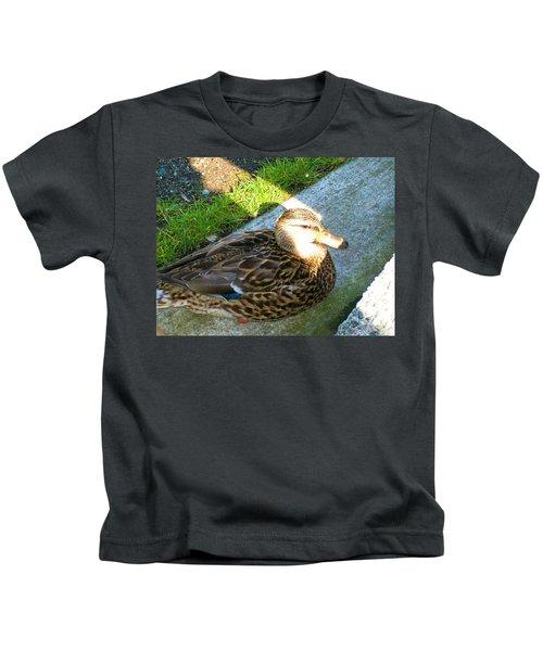Duck Melanie Tweed In  The Sun Kids T-Shirt
