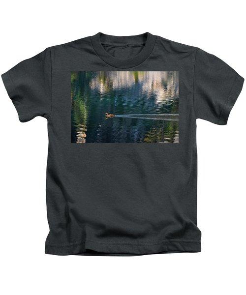Duck Waves Kids T-Shirt