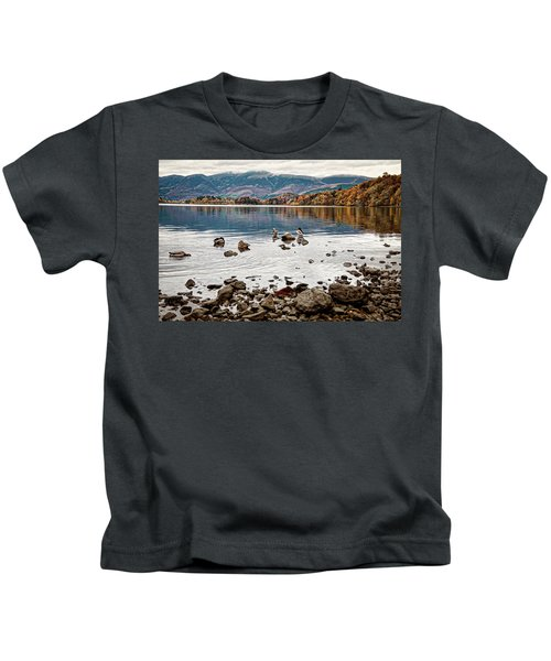 Ducks On Derwent Kids T-Shirt