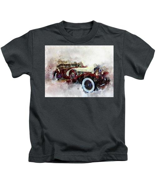Duesenberg Watercolor Kids T-Shirt
