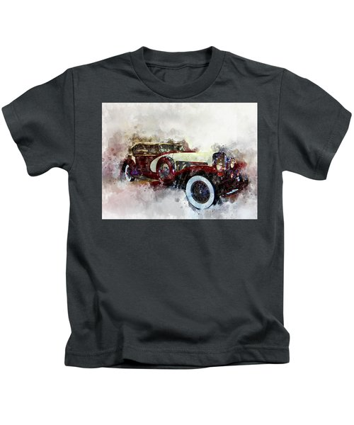 Duesenberg Watercolor Kids T-Shirt