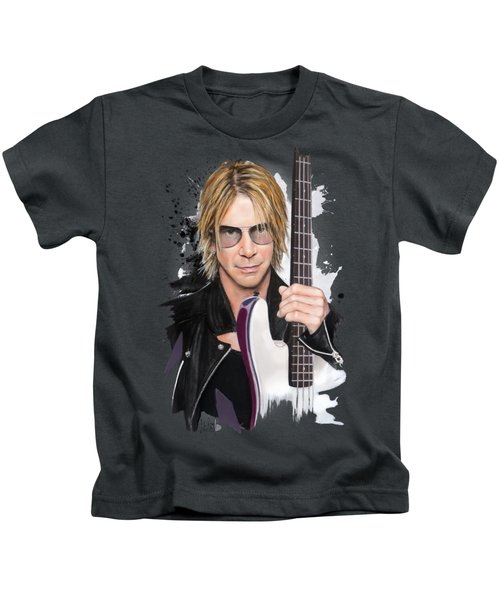 Duff Mckagan Kids T-Shirt