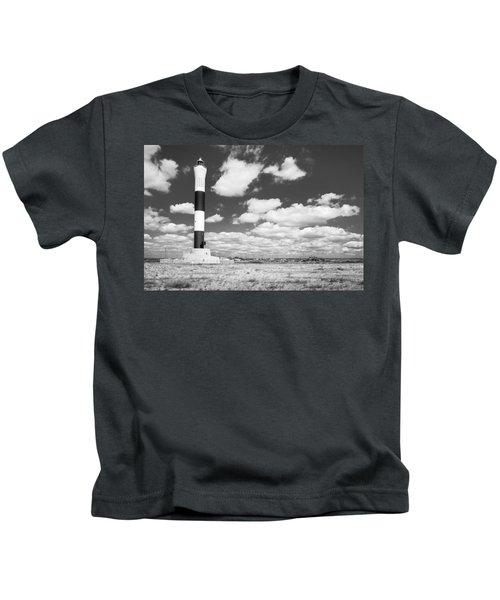 Dungeness Lighthouse. Kids T-Shirt