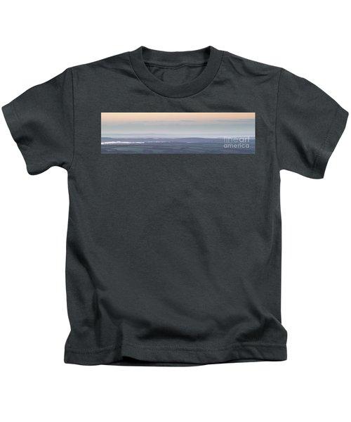 Dunkery Hill Morning  Kids T-Shirt