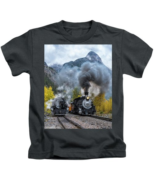 Durango Silverton Train Kids T-Shirt