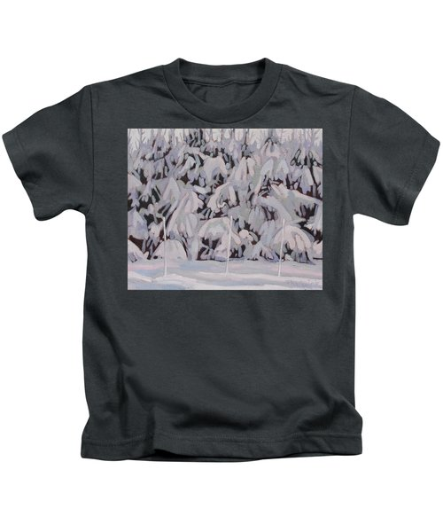 During The Storm Kids T-Shirt
