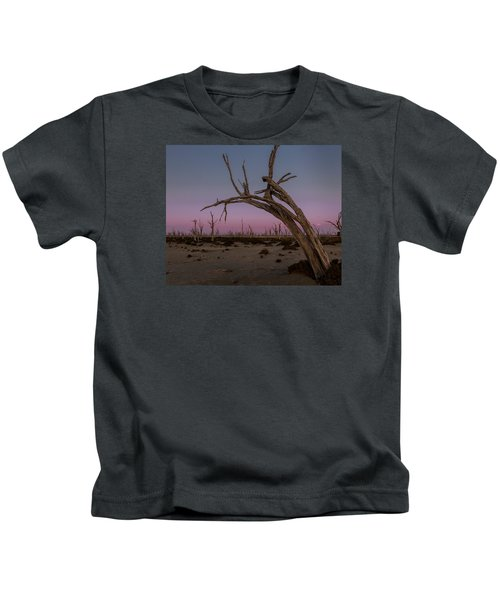 Dusk At Dumbleyung Lake Kids T-Shirt