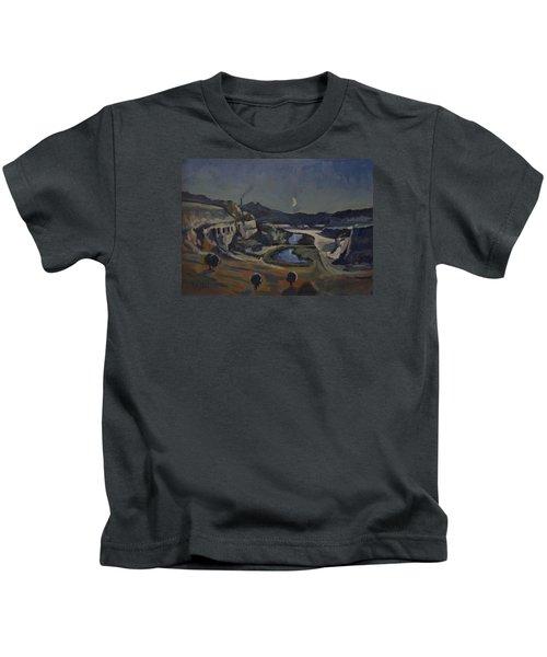Dusk Over The Sint Pietersberg Kids T-Shirt