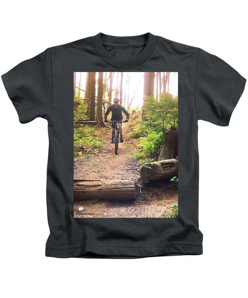 Eagle Jump Kids T-Shirt