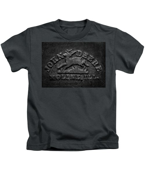 Early John Deere Emblem Kids T-Shirt