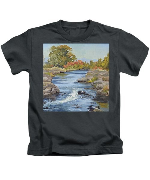 Early Morning In Idaho Kids T-Shirt