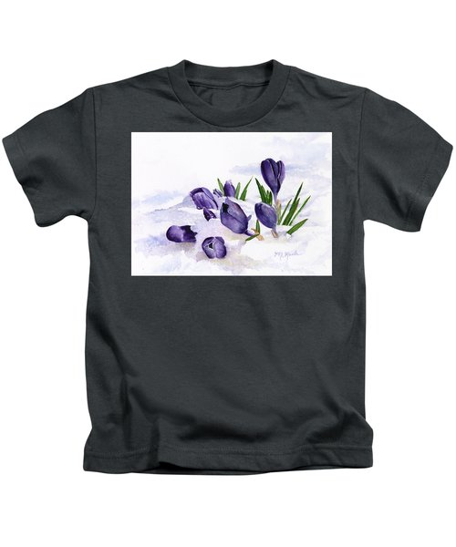 Early Spring In Montana Kids T-Shirt