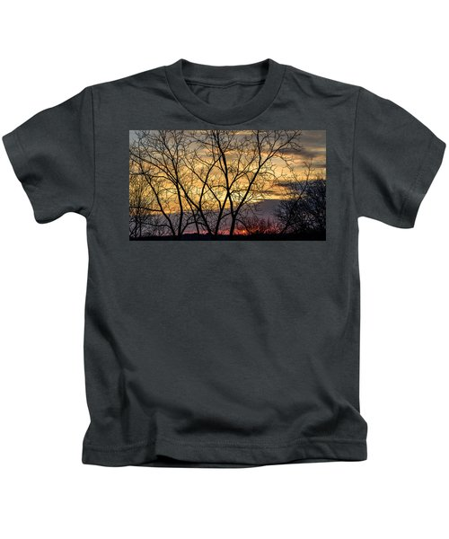 Early Spring Sunrise Kids T-Shirt