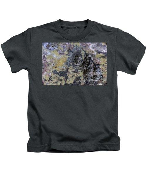 Earth Portrait 001-168 Kids T-Shirt