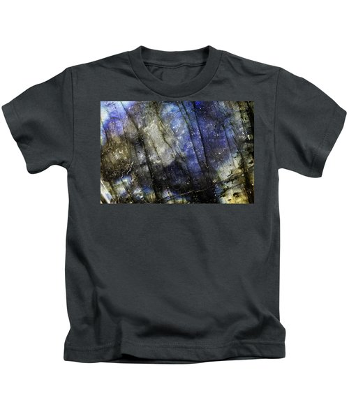 Earth Portrait 001-69 Kids T-Shirt