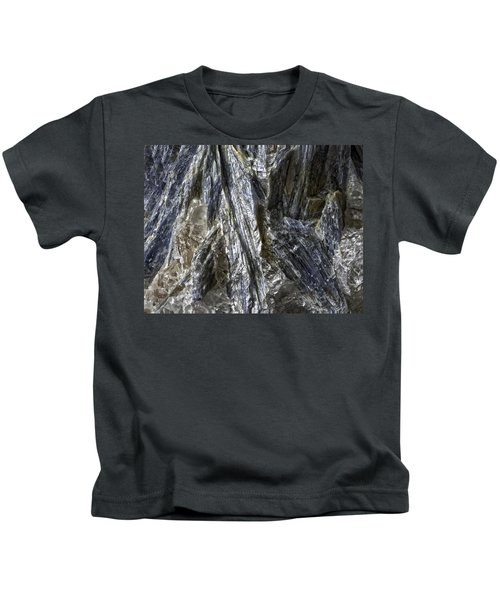 Earth Portrait Kyanite 001-089 Kids T-Shirt
