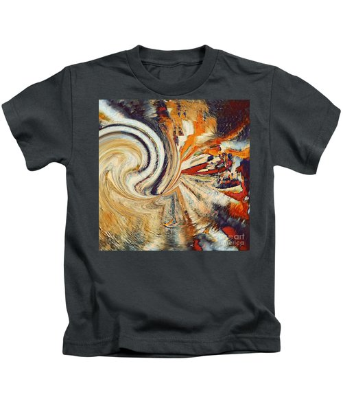 Earth Tones Kids T-Shirt