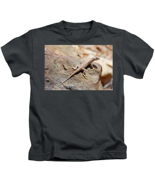 Eastern Fence Lizard, Sceloporus Undulatus Kids T-Shirt