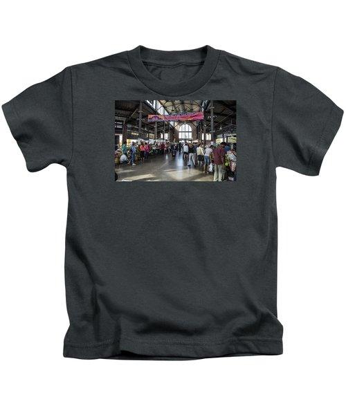 Eastern Market Detroit Saturday  Kids T-Shirt