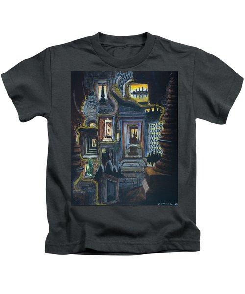 Echoes Of Angkor Wat Kids T-Shirt