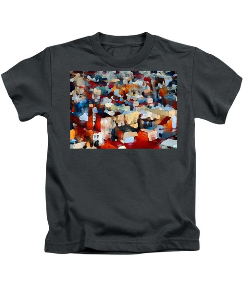 Echoes Of Civilization  Kids T-Shirt