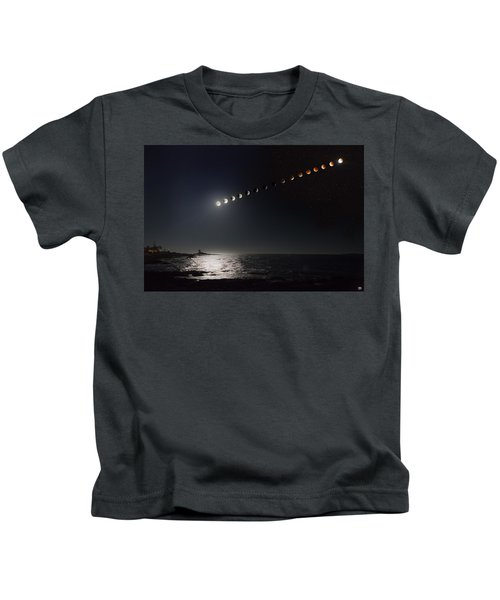 Eclipse Of The Moon Kids T-Shirt