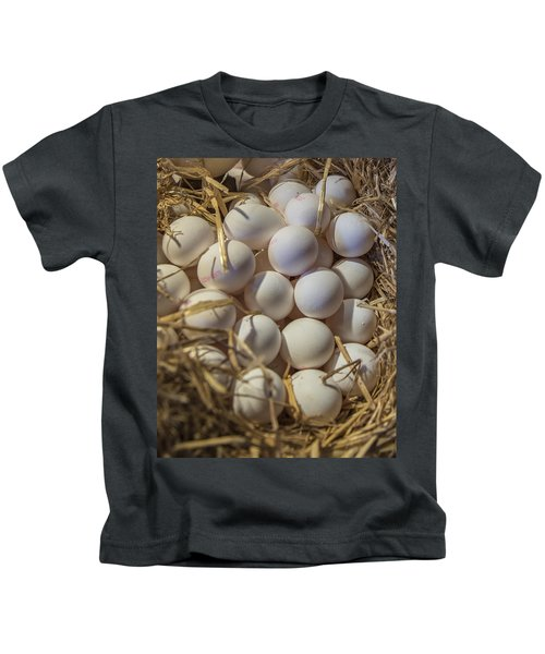 Egg Stand - La Bouqueria - Barcelona Spain Kids T-Shirt