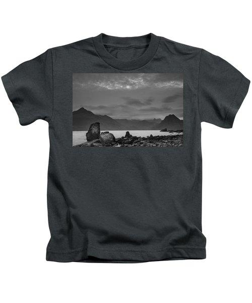 Egol Beach On The Isle Of Skye In Scotland Kids T-Shirt