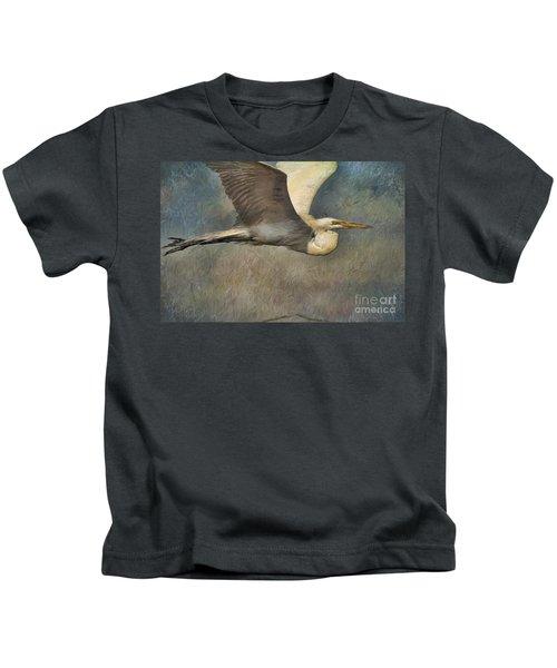 Egret Journey Kids T-Shirt