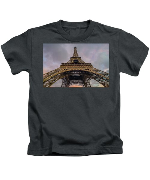 Eiffel Tower 5 Kids T-Shirt