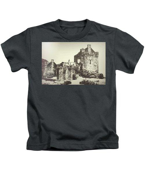 Eilean Donan Castle Kids T-Shirt