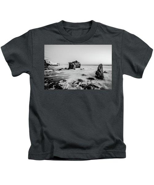 El Matador State Beach Kids T-Shirt
