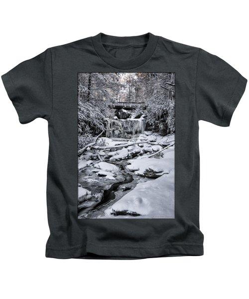 Elakala Falls Kids T-Shirt