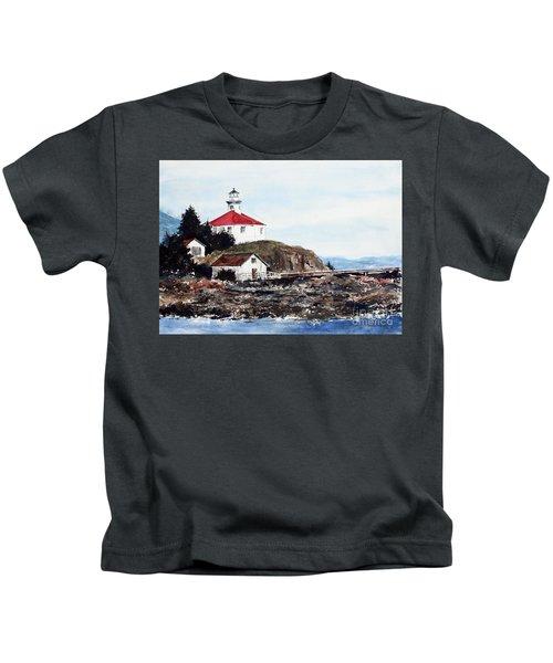 Eldred Rock Lighthouse Kids T-Shirt