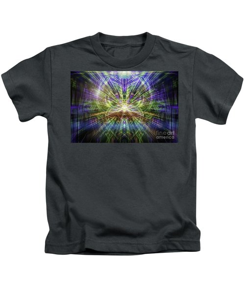 Electric Owl  Kids T-Shirt