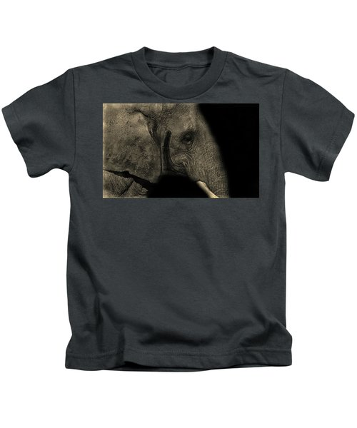 Elephant Portrait Kids T-Shirt