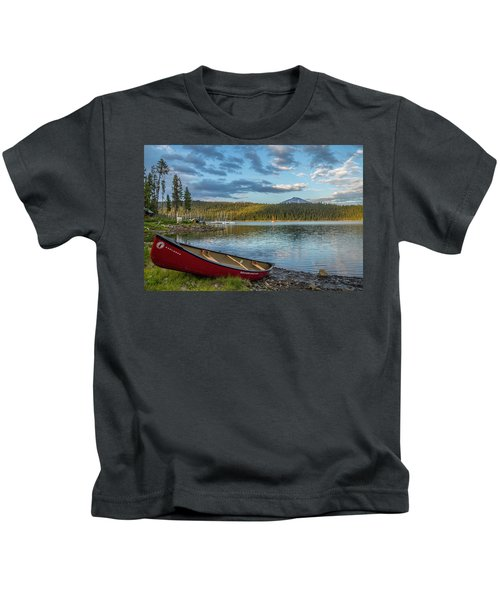 Elk Beach Memories Kids T-Shirt