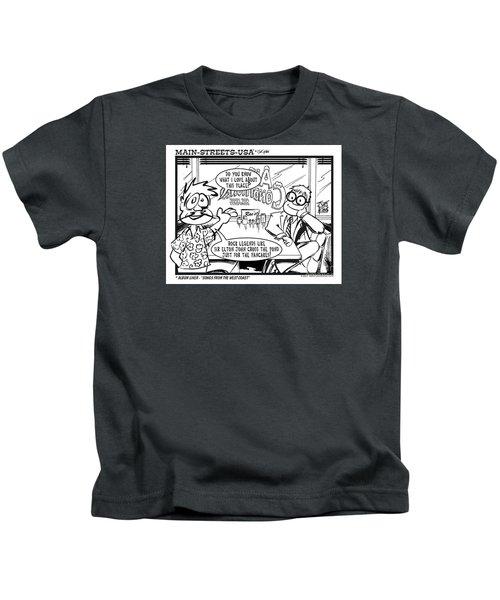 Elton Kids T-Shirt by Joe King