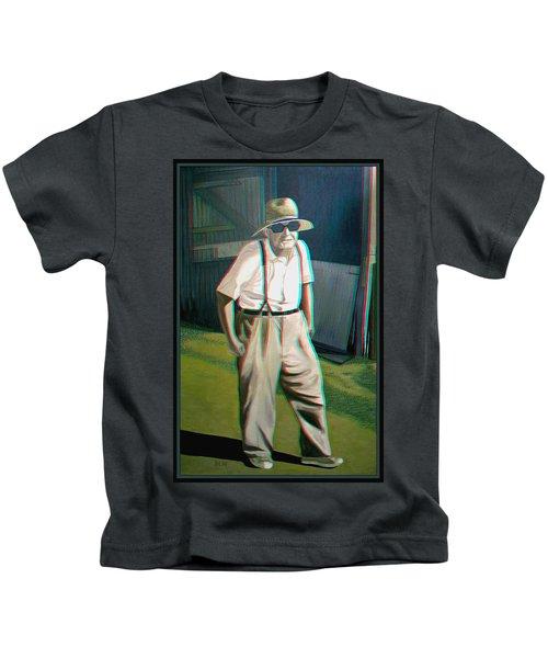 Elwood - 2d-3d Anaglyph Conversion Kids T-Shirt