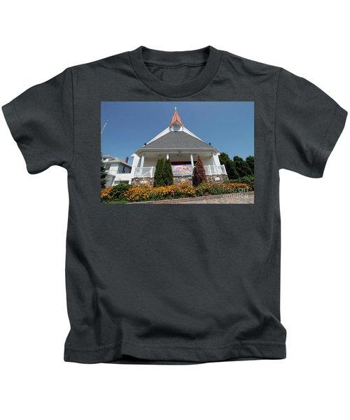Emanuel Lutheran Church  Patchogue Ny Kids T-Shirt